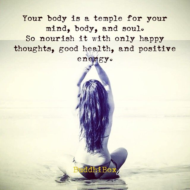 Your Body is yourTemple