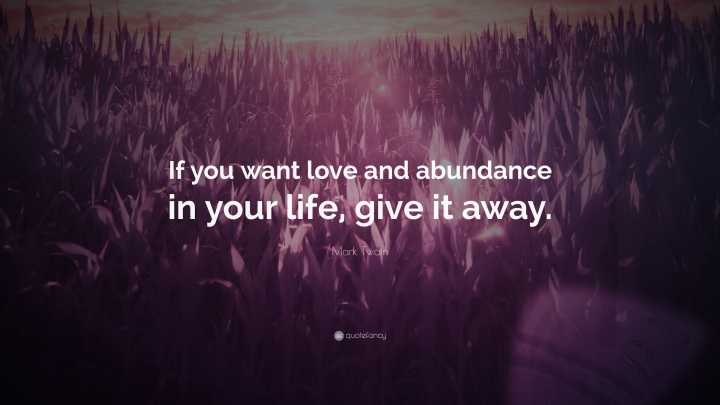 How do you define Abundance?